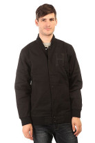 Бомбер Huf Baseball Jacket Black