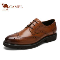 Camel Bloch Leather Classic British Business Casual Shoes