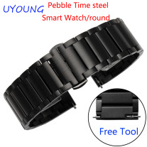 For Pebble Time Steel/Steel 2/Smart watch/Round Quality
