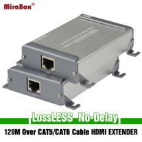 HDMI Over Cat5/Cat6 Cable Extender Support POE LossLESS